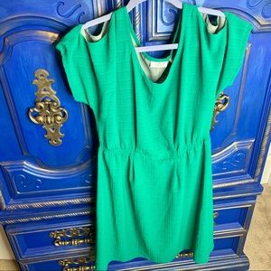 GF by Geren Ford Womens Dress Sz Small Kelly Green